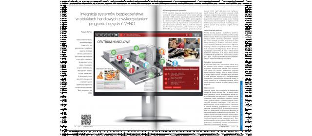 Integracja systemów bezpieczeństwa w obiektach handlowych na bazie VENO